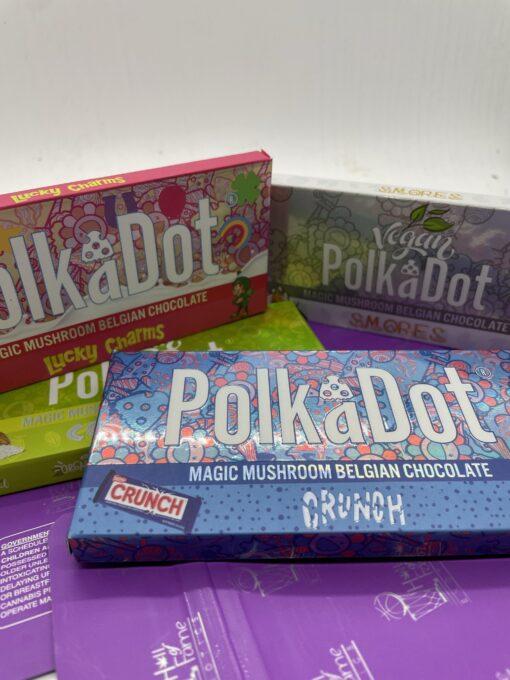 Polkadot Psilocybin Chocolate Bars